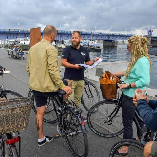 Aalborg Tours fortæller om havnefronten