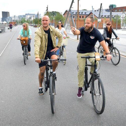 Aalborg Tour Bike tour ved havnefronten