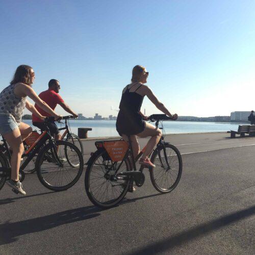 Aalborg Tours Bike Tour ved havnefronten