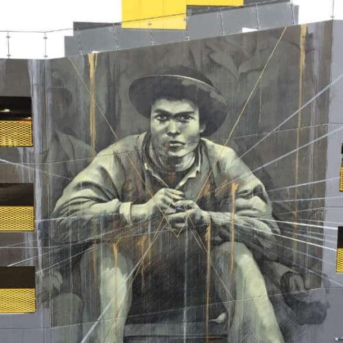 Godsbanen Street art